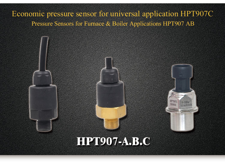 Holykell factory HPT907C low cost 0.5-4.5V water pressure sensor
