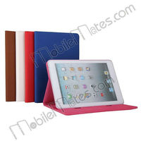 High Quality Multifunctional Folio Stand Flip Leather Case for iPad Mini, for ipad mini Wallet leather cover