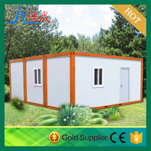 Expandable Prefabricated Container House for living with shipping contaniner and the cargo container