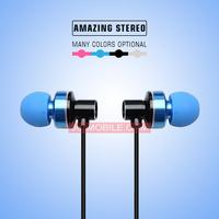 Wholesale custom logo in-ear retractable ear buds earphone online shopping