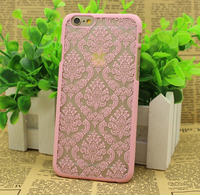 New Arrival High Quality Classical Flower block-printed fabric Phone Back TPU Cover Phone Case for iphone 6plus/6s/5/5s