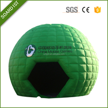 clear inflatable lawn igloo tent for rental