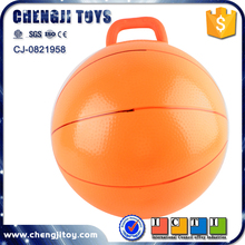 Fitness handle ball inflatable ball rubber bouncy balls