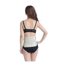 allwin magnetic heatig waist support back pain relief belt