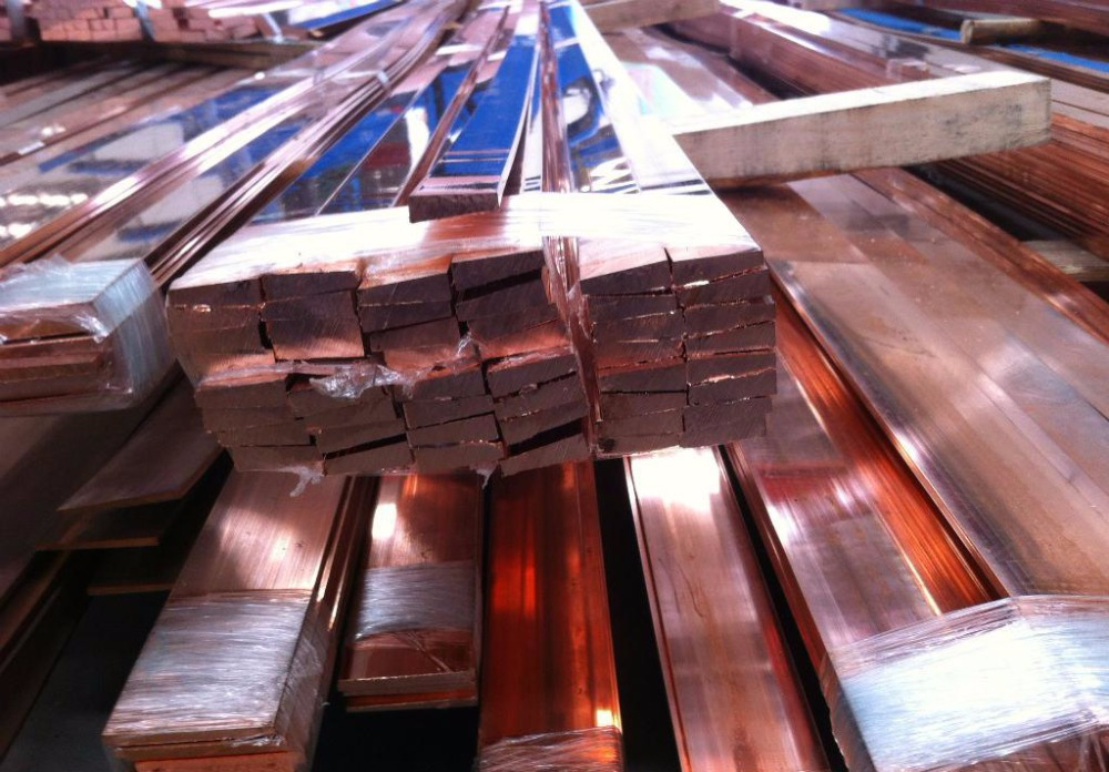 Copper Buss Bar : Flat copper busbar c bus bar buy