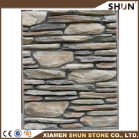 rusty slate low price cultural stone from factory new design