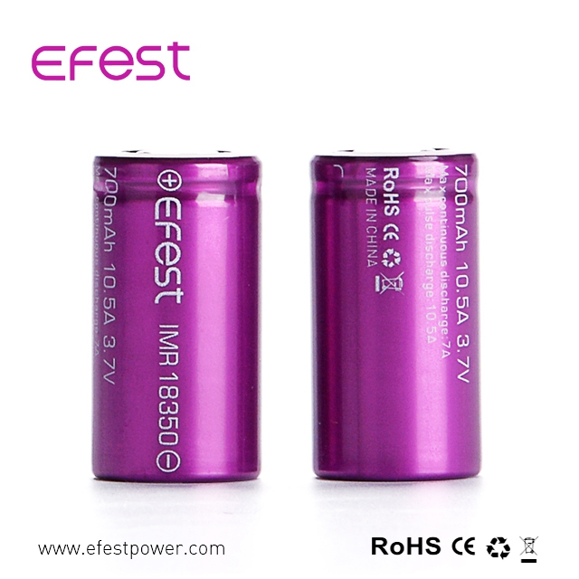 SVD/vamo V2 Vamo V3 replacement battery Efest IMR 18350 battery