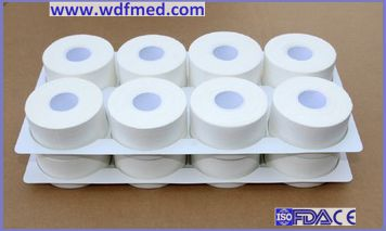 Zigzag Edge 100% Cotton Latex Free Adhesive Tape with Zinc Oxide