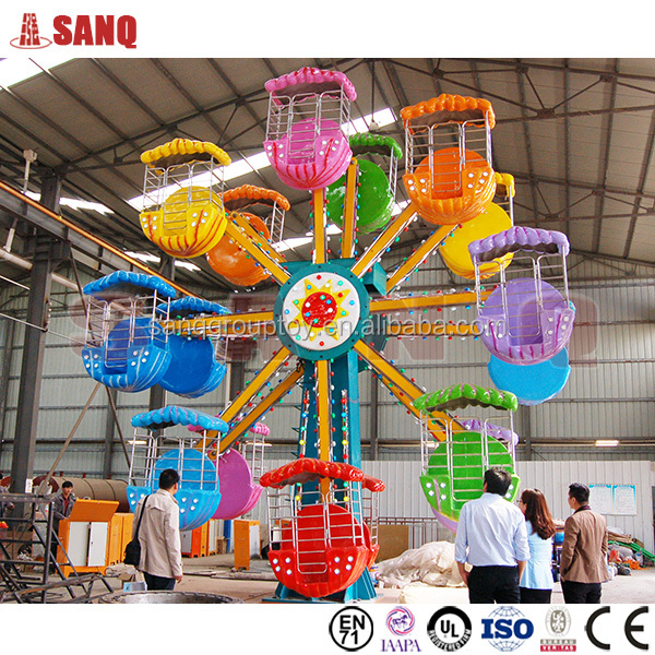 Amusement kiddie rides 32 seats / 24 seats double sides ferris wheel for sale
