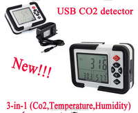 Indoor Air Quality High Accurate HT-2000 CO2 Data logger CO2 gas flow Monitor