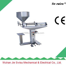 Best selling semi-automatic ayurvedic syrup filling machine