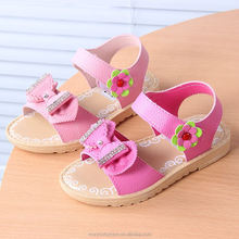 monroo Children shoes wholesale Korea girls soft bottom beach sandals