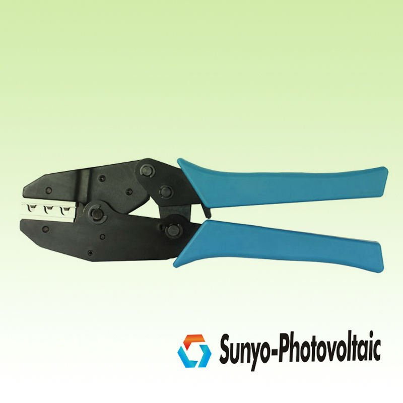 wire crimping tools for connectors and terminals ,solar cable crimping plier,2.5mm2--6mm2