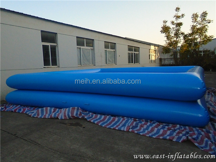 Crazy commercial giant inflatable swimming pool for sale