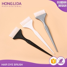 Factory Outlet colorful high quality silicon tint brush for hair salon