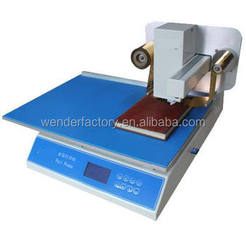 WD-8025 Foil Stamping Machine Gold foil printer