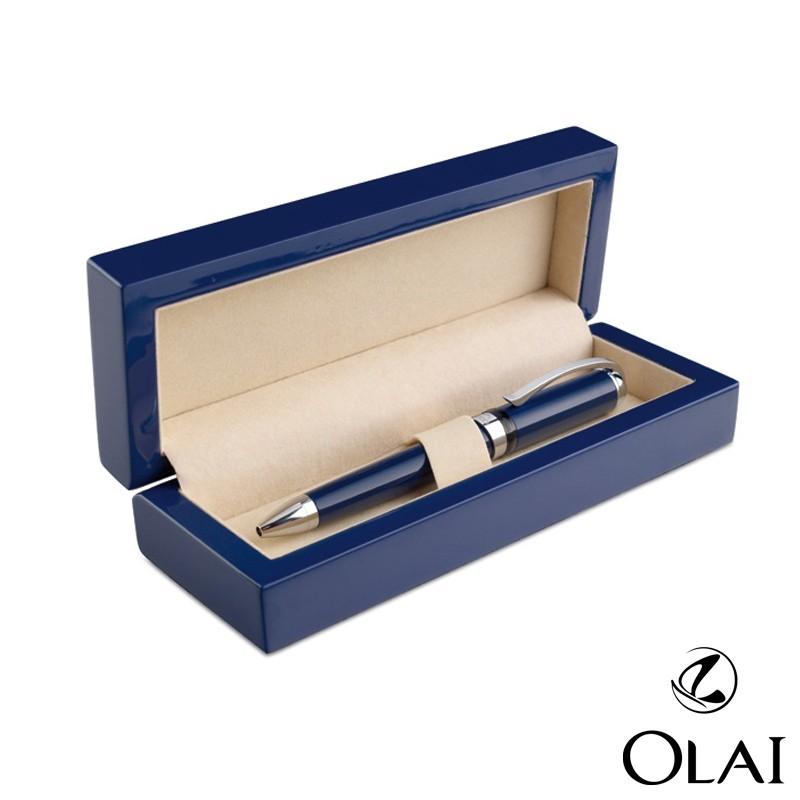 2016 new style wooden gift pen box,wood pen packaging box, high glossy wooden pen holder