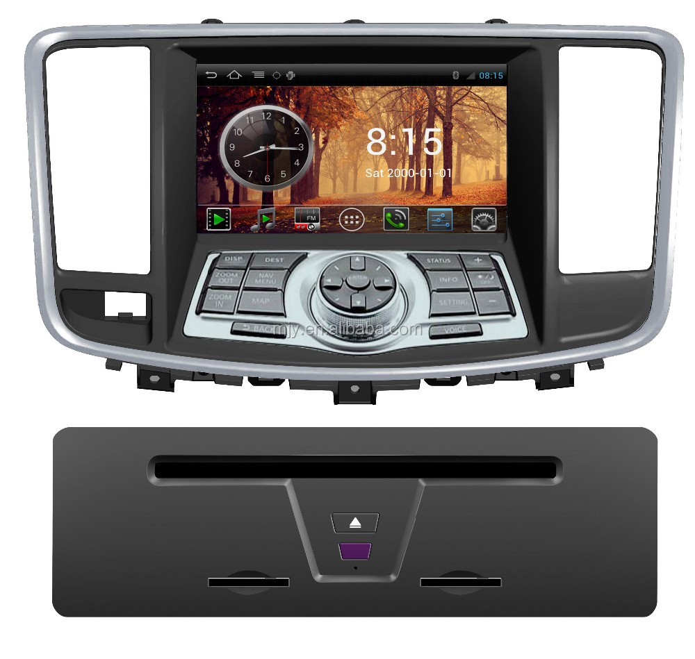 Hot selling Andriod Car DVD CAR GPS Car Navigation for Nissan Teana