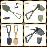 Best quality folding shovel and saw