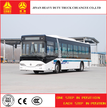 china suppliers CNHTC howo city bus