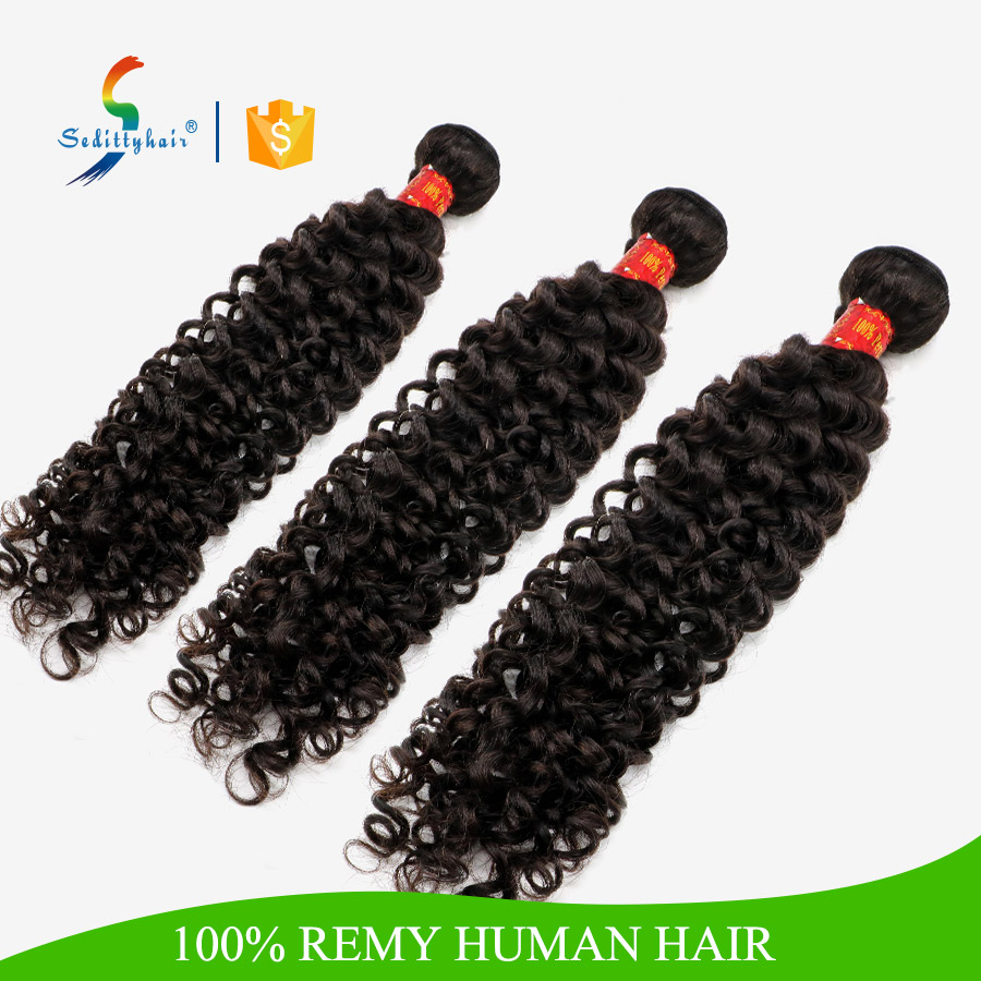 Guangzhou Sedittyhair wh20 inch human hair weave extension Italian curl human remy hair