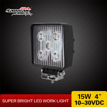 15W LED work lighting,driving lighting,led truck and trailer lights SM6151