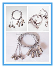Aircraft cable gripper Hanging stainless steel Suspended Steel Wire Rope For Led Light