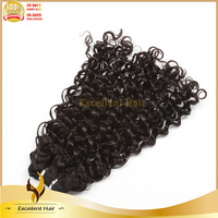 Hot sale beauty product 100 human hair weave 16inch raw unprocessed virgin brazilian tight curly hair