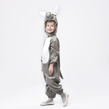 high quality carnival halloween party animal donkey costume for children