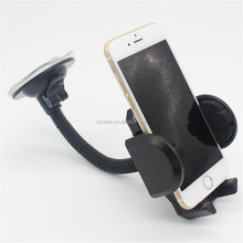 Universal Windshield Dashboard stretch Cell Phone Holder with Strong Suction Cup 360 degree rotation for 3.5-5.5 size phone