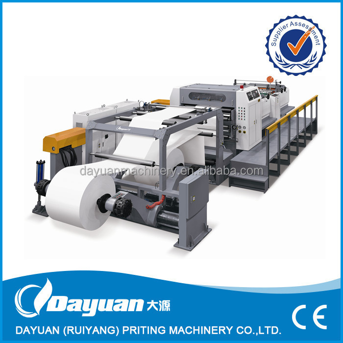 paper sheeter machine SM1400 roll to sheet cutter