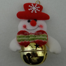 christmas dancing and singing snowman with mini bell