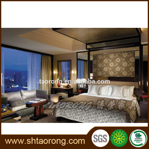 China made high end hotel modern french bedroom furniture