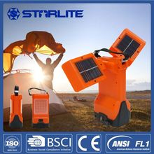 STARLITE rechargeable solar lantern ABS hot rechargeable solar camping light