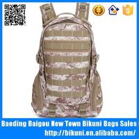 China custom high quality waterproof canvas hiking solar backpack hunting bags