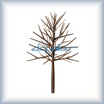 Architectural model materials,model tree,scale model tree,plastic model tree,tree arm,model building
