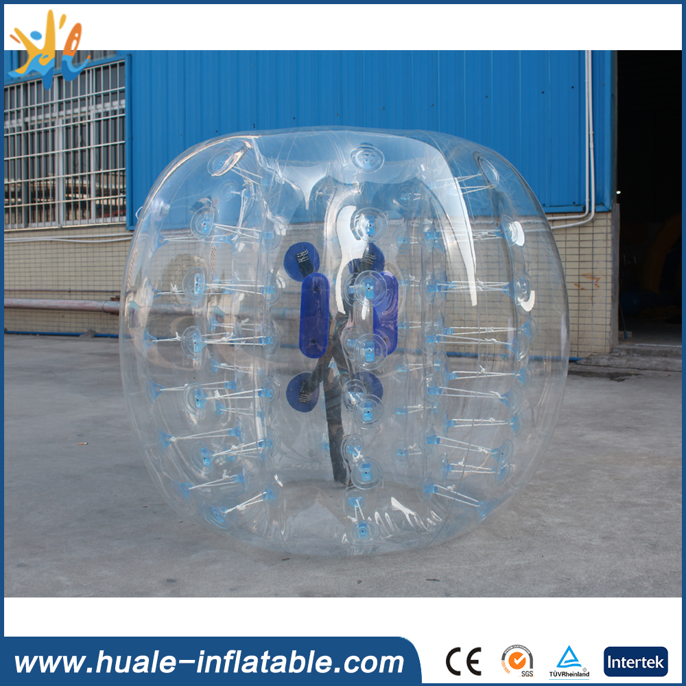 Best selling PVC bubble soccer inflatable bumper ball for game sports