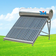 Factory Direct Sale Price Non-pressure Industrial Solar Panel Water Heater with 240L Solar Hot Water Tank