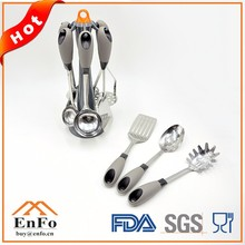 High Standard Eco-friendly Stainless Steel Kitchen Utensils Tool Set