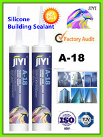 100% silicone premium quality acetic silicone sealant, black color, 280ml