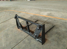 lifting equipment mechanical parts, bale fork, loader attachments