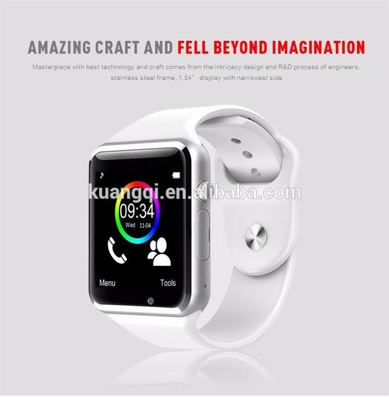 Brand new intelligent wristwatch elderly use pedometer wifi watch mobile phones