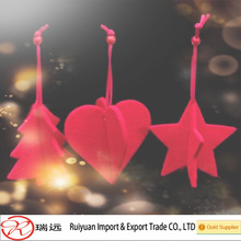 Fashionable hot sale Felt hanging decorations