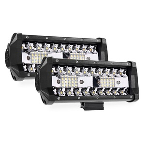 "7"" 5-row LED Light Bar 4000 lumen Combo Light for Off Road 4x4 Truck"