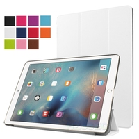 Pro 9.7 Smart leather cover case for Apple iPad Multifunction Auto Seep Wake case three floding Magnetic PU cover