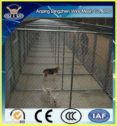 Indoor Dog Kennels With chain link fence panels For Sale