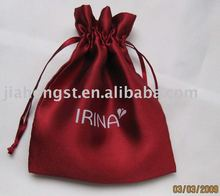 drawstring satin bags for jewelery
