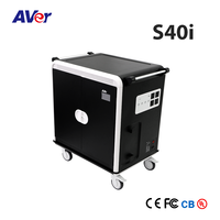 AVer S40i 40 Device Intelligent Charging Cart/Trolley for Laptop, Notebook, Chromebook, Pad, Tablet