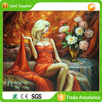 Room Decor Art Acrylic Material Open Gril Crystal Sex Photo Diamond Painting