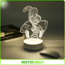 3D LED Night Light Decoration night lamp or an Excellent gifts Light
